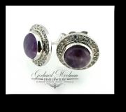 Amethist-Earrings