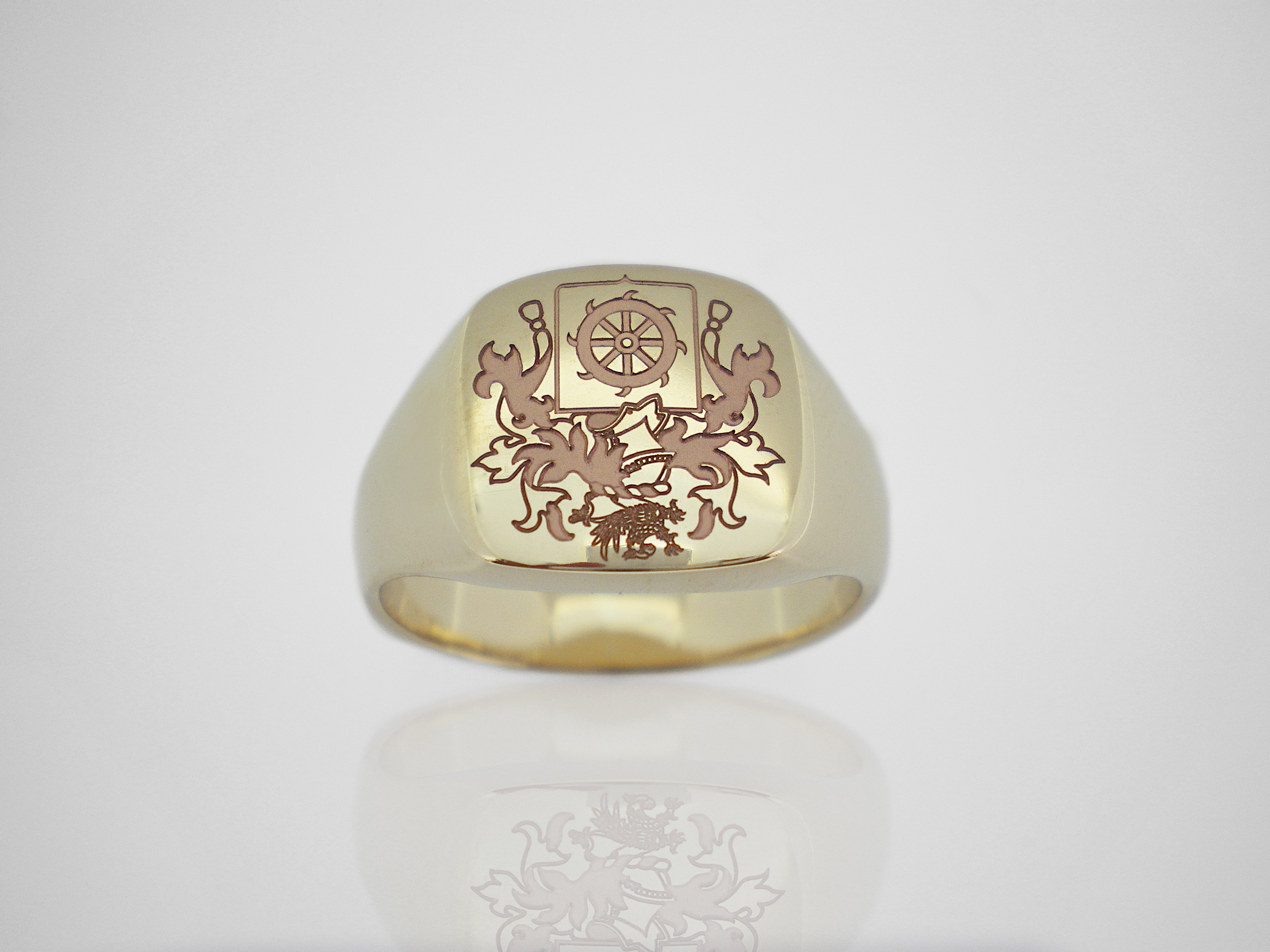 pin rings crest mcdermott family pinterest ring